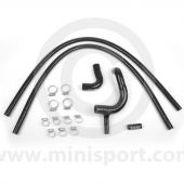 BLACK Mini Silicone Hose Kit