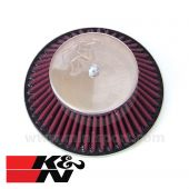 K&N Cone Air Filter - 1.75'' HIF44 Carb - 1275cc