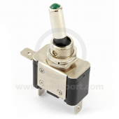 Toggle Switches - On/Off - with Green LED