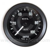 SMIPG1310-00B Smiths Mechanical Oil Pressure Gauge - Black