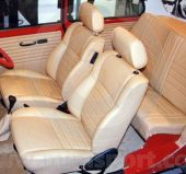 Mini 93-95 Leather Front Rear Seat Cover kit