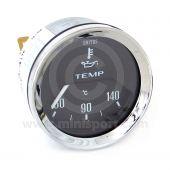 BT2240-01C Smiths Oil Temperature Gauge black face & chrome bezel
