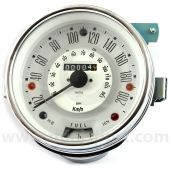 SN4421-33W Smiths 200Kph Classic Mini Speedo