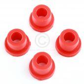 SPDSP657 Poly Mini suspension bottom arm bush kit - red set of 4