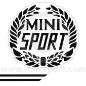 Cooper Look-a-Like Decal Kit - Sport - Black