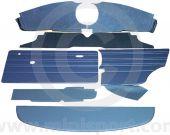 13 Piece Interior Panel Kit Mini Saloon 70-73 with Oval Speedo