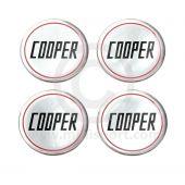 Mini Cooper Wheel Badges