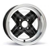 7 x 13 Revolite Wheel - Black/Polished Rim