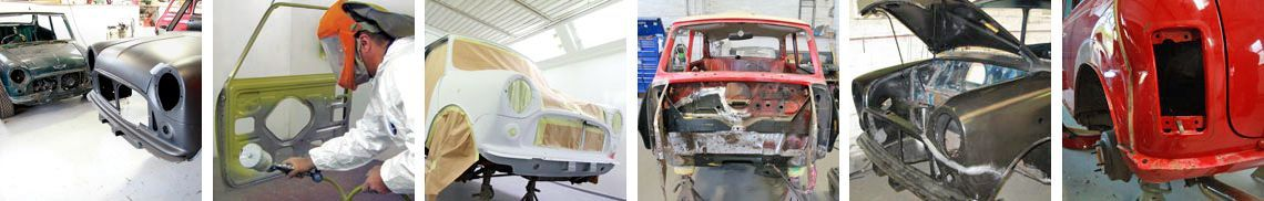 Mini Sports body shop and spray centre can cater to all your Mini restoration and repair needs